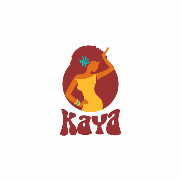 Caribbean design with the title 'kaya '