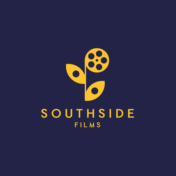 Film reel logo with the title 'Southside films'