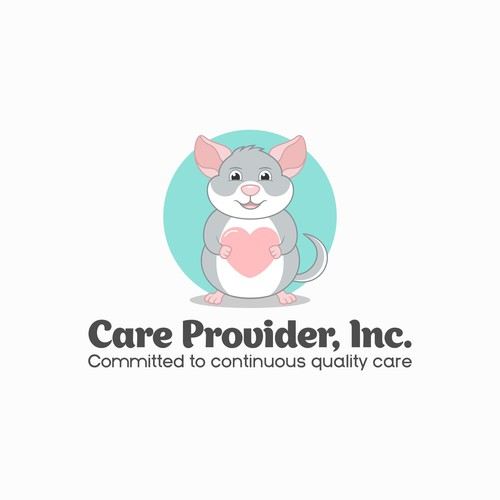 Health brand with the title 'Care provider logo'