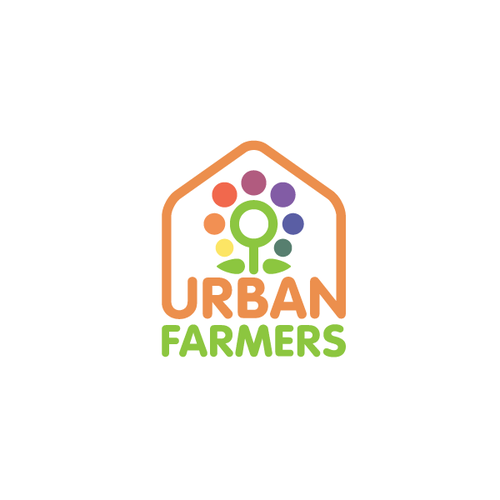 Horticulture logo with the title 'Urban Farmers logo'
