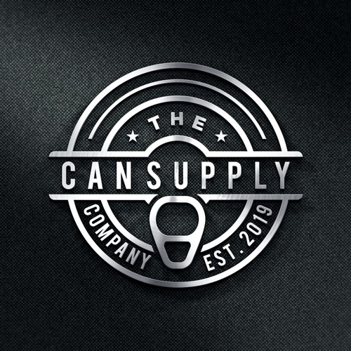 Container logo with the title 'The Can Supply Company'