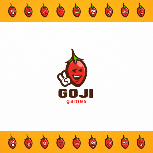 Toy design with the title 'Goji Games'