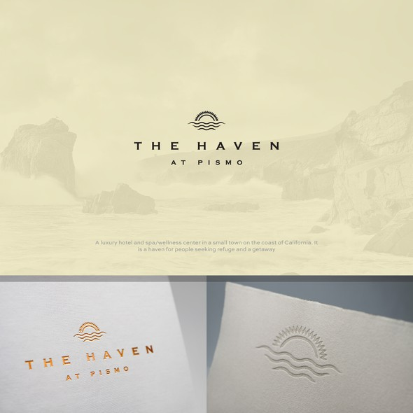 Haven logo with the title 'The Haven at Pismo'
