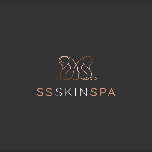 Youth logo with the title 'SS SKIN SPA'