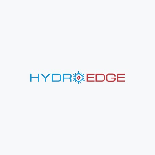 Edge logo with the title ''HydroEdge' Logo Design Concept'