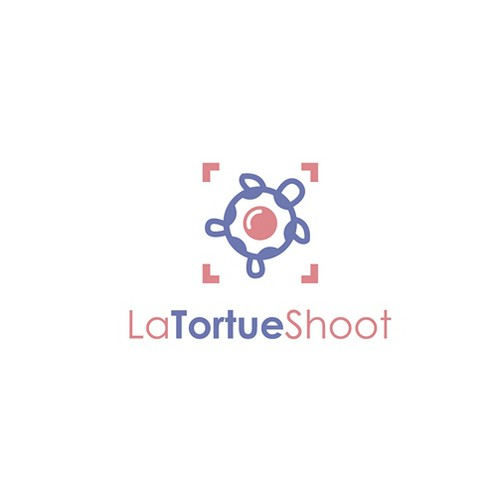 Turtle design with the title 'Logo for Photography store'
