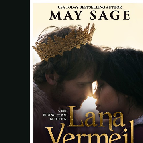 Romantic book cover with the title 'Lana Vermeil'