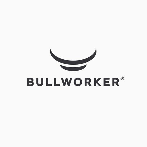 Simple design with the title '«Bullworker» logo'