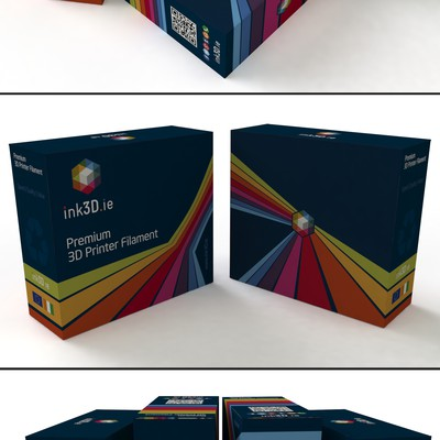 High Quality 3D Printing Filament Packaging Design.