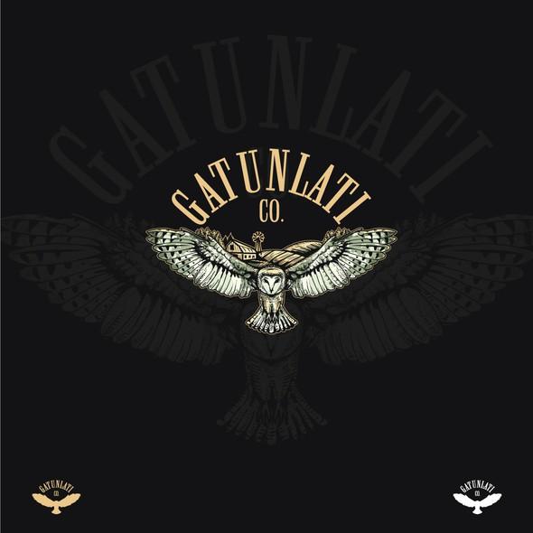 Gold logo with the title 'Gatunlati.co'