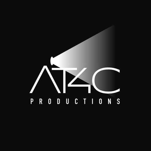 Production company logo with the title 'Logo design for AT4C'