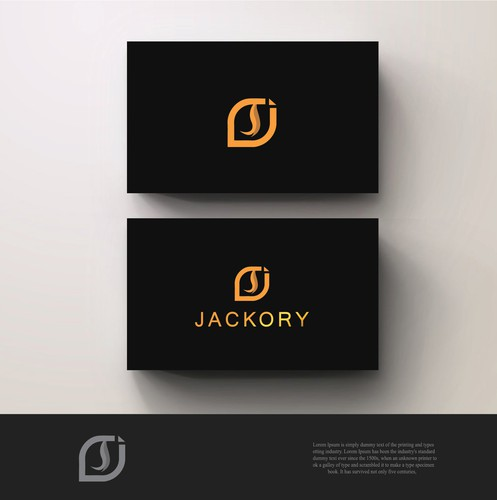 J logo with the title 'Create a clean, modern and high-class logo for a new brand'