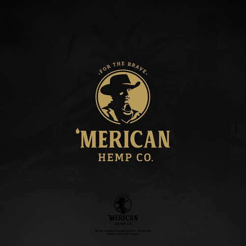 American logo with the title ''Merican'