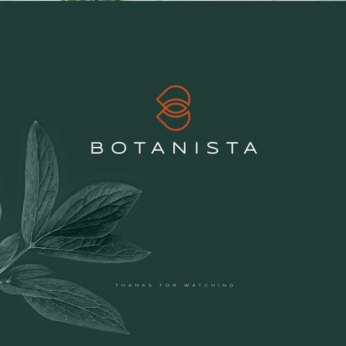 Vegan design with the title 'Botanista'