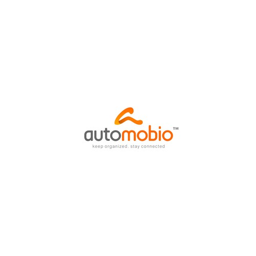 Accessories brand with the title 'Automobio Phone Accessories Logo'
