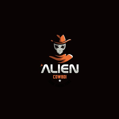Alien logo with the title 'Alien Cowboy'