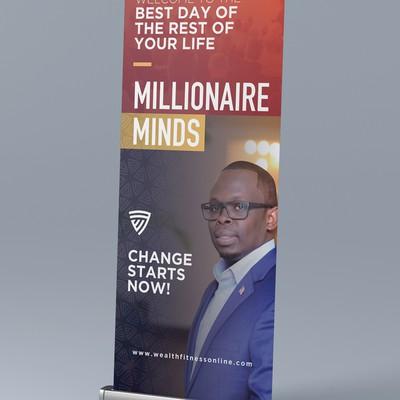 Millionaire Minds Rollup Design