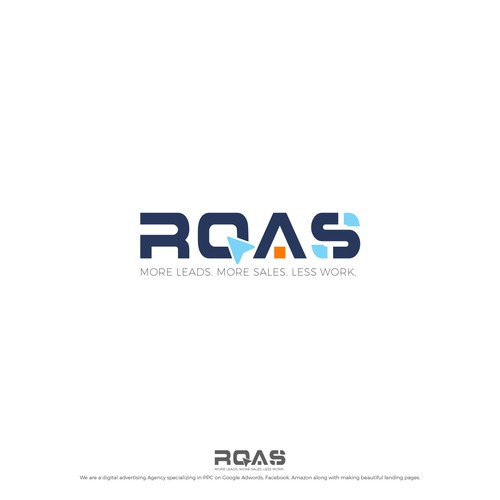 Advertising brand with the title 'ROAS'