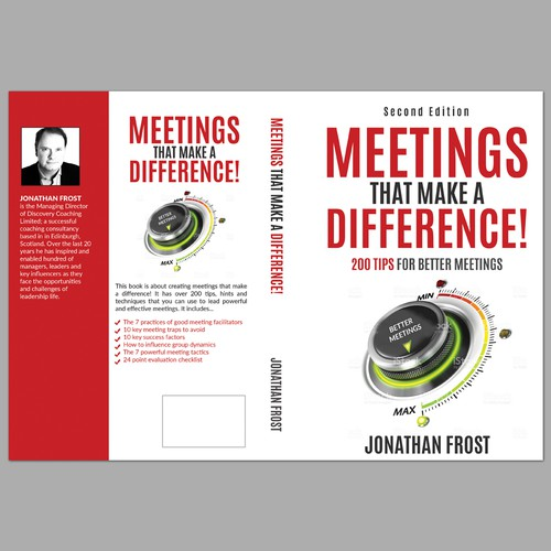 Leadership book cover with the title 'Brilliant book cover needed for a popular business book'