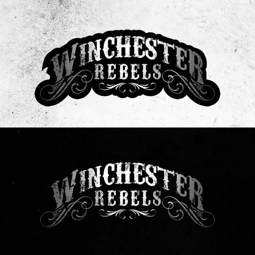 Sheriff logo with the title 'Winchester Rebels'
