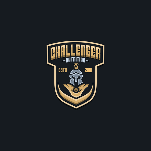 Nutrition brand with the title 'Challenger nutrition'