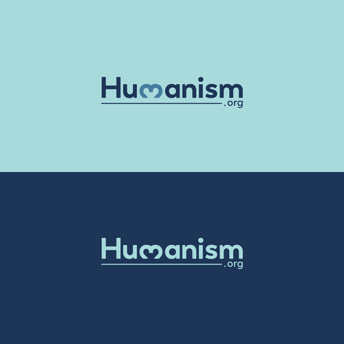 Website logo with the title 'Humanism logo'