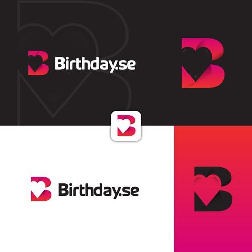 Birthday logo with the title 'Birthday.se'