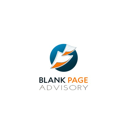 Sheet logo with the title 'Blank Page Logo'