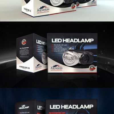Packaging Design for Headlamp