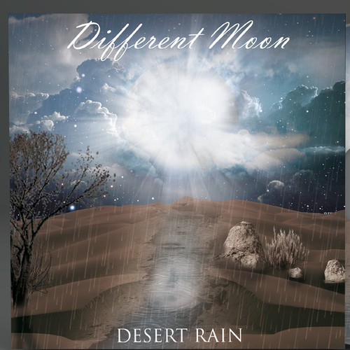 Desert artwork with the title 'album cover artwork'