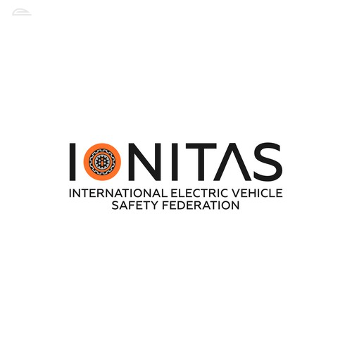 Hybrid logo with the title 'IONITAS '
