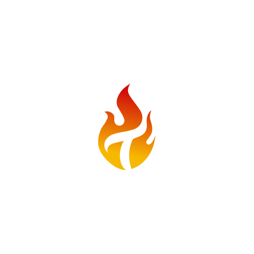 T design with the title 'T Flame for Candle Brand'