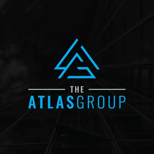 A brand with the title 'The Atlas Group Logo'