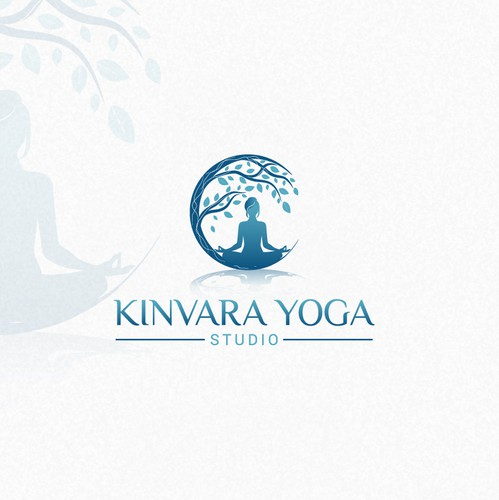 Zen design with the title 'Awesome logo For Kinvara!'