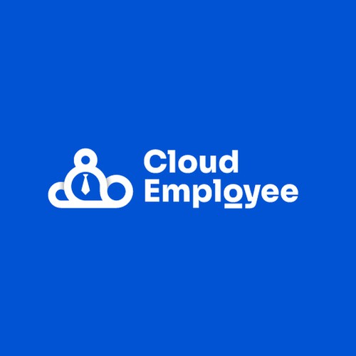 Hiring design with the title 'Cloud Employee logo Design'