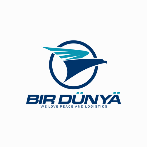 Transportation brand with the title 'Logo Design'