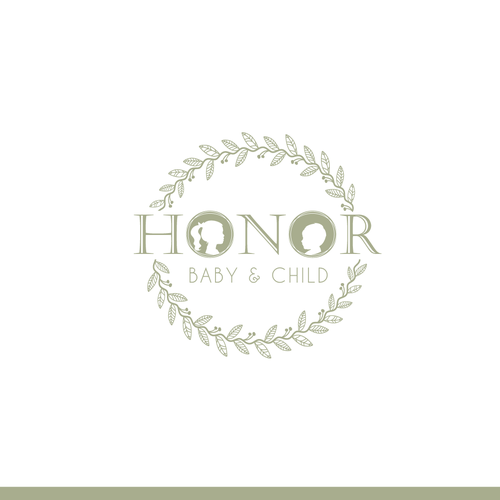 Girl brand with the title 'Honor Baby & Child'