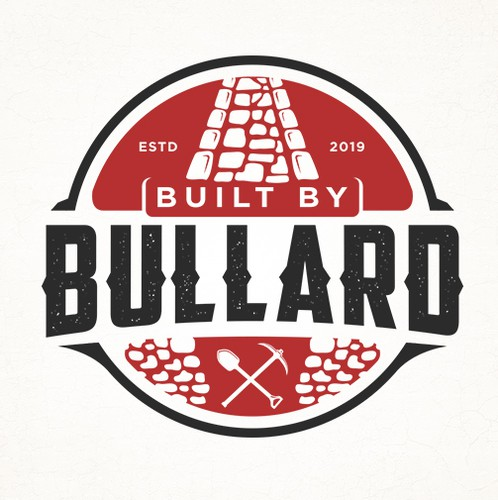 Shovel design with the title 'Built by Bullard'