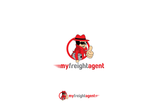 Fast brand with the title 'Create a branding identity for  a Fun Trustworthy Freight Agent You Can Rely On'