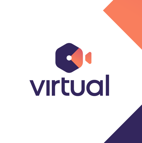 Home improvement logo with the title 'Virtual'