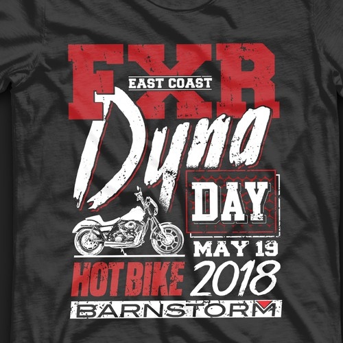 Automotive t-shirt with the title 'Barnstorm Cycles'