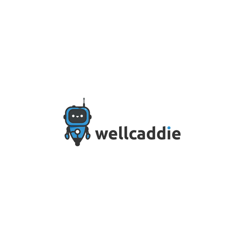 Robot brand with the title 'Easy to Animate Robot Logo Proposal'