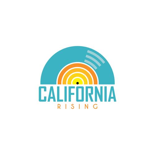 California design with the title 'California Rising'