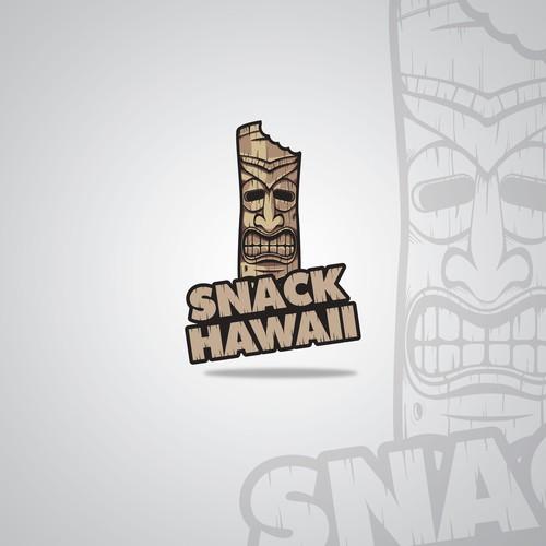 Maui logo with the title 'Tiki Logo'