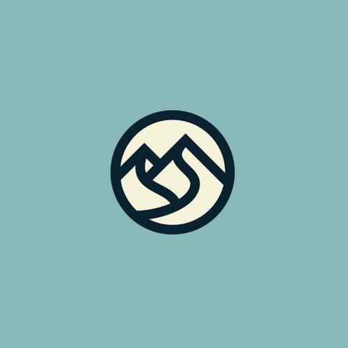 Traveler logo with the title 'LOGO DESIGN'