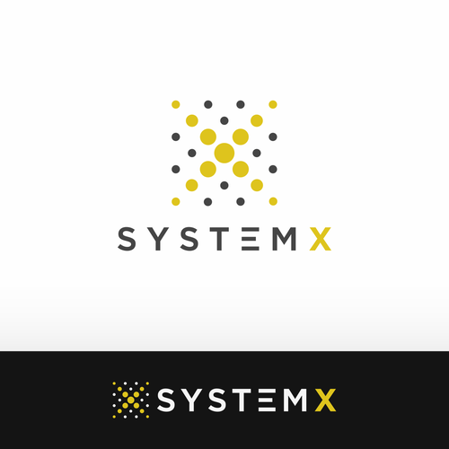 Square brand with the title 'SystemX'