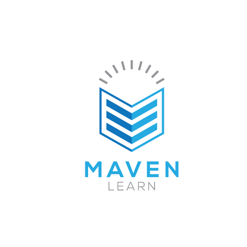 Entrepreneur brand with the title 'Maven Logo Proposal'