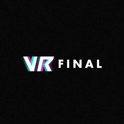 VR logo with the title 'VR Final Logo '