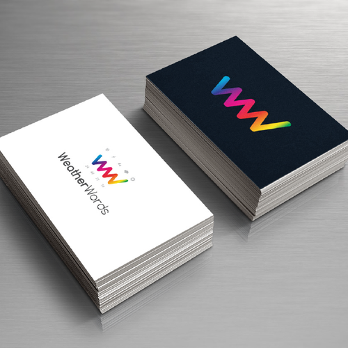 Weather design with the title 'Logo for weather based digital marketing'