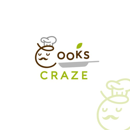 Creative design logo with the title 'A fun logo for a kitchen products company'